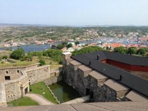 Vista do alto do forte